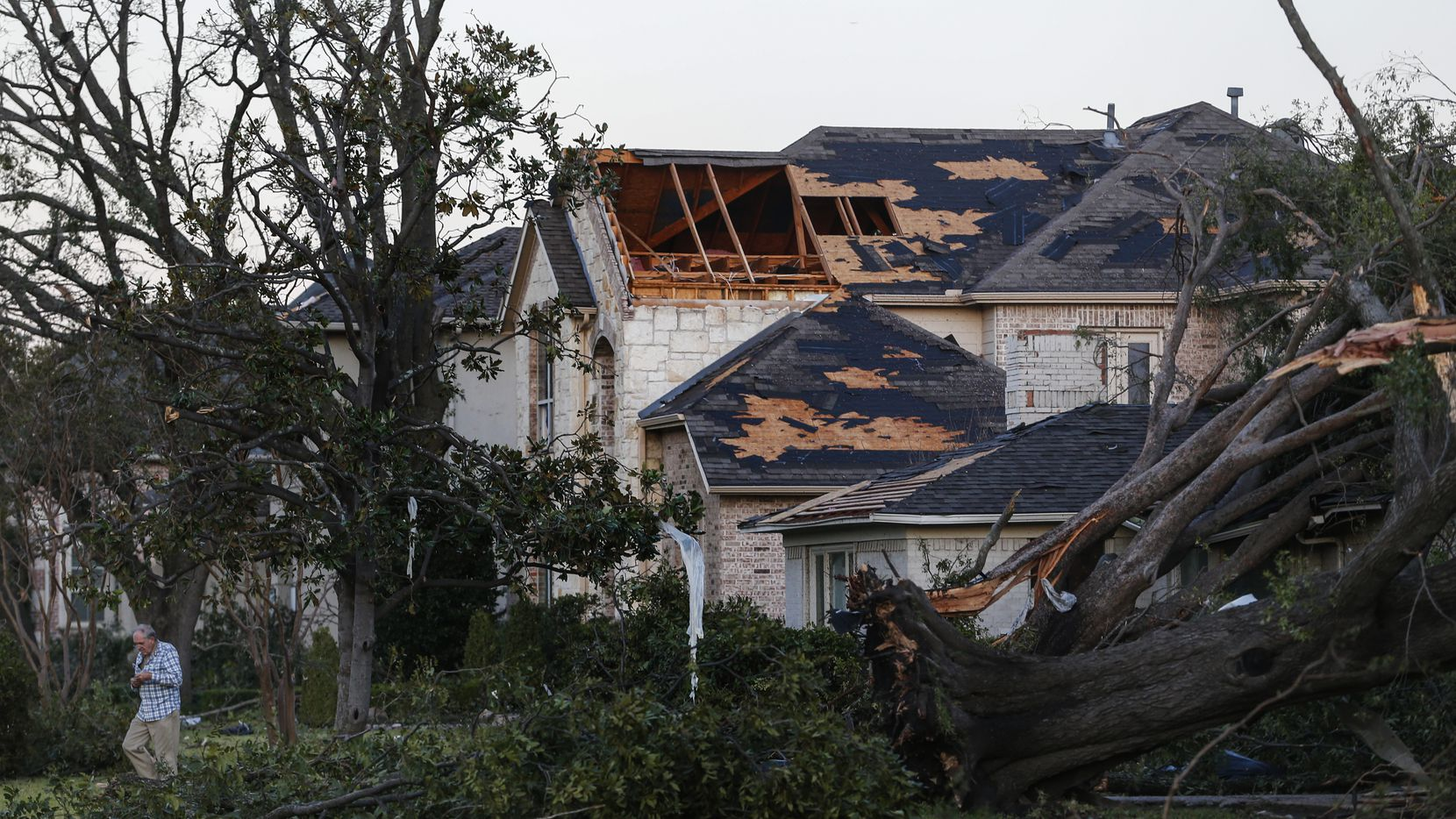 Can a tornado damage a roof? A guide from a General Contractor for roof repair in Dallas